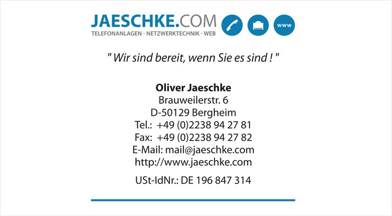 JAESCHKE.COM Telefonanlagen, Netzwerktechnik, IT und Alarmanlagen